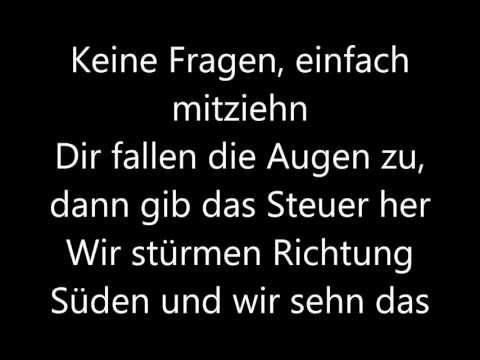 Wir sind groß Mark Forster Lyrics - YouTube