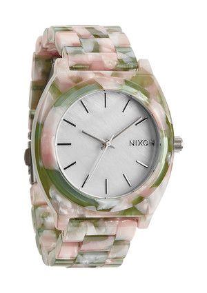 Spring TIME!  The Time Teller Acetate - Mint Julep | Nixon