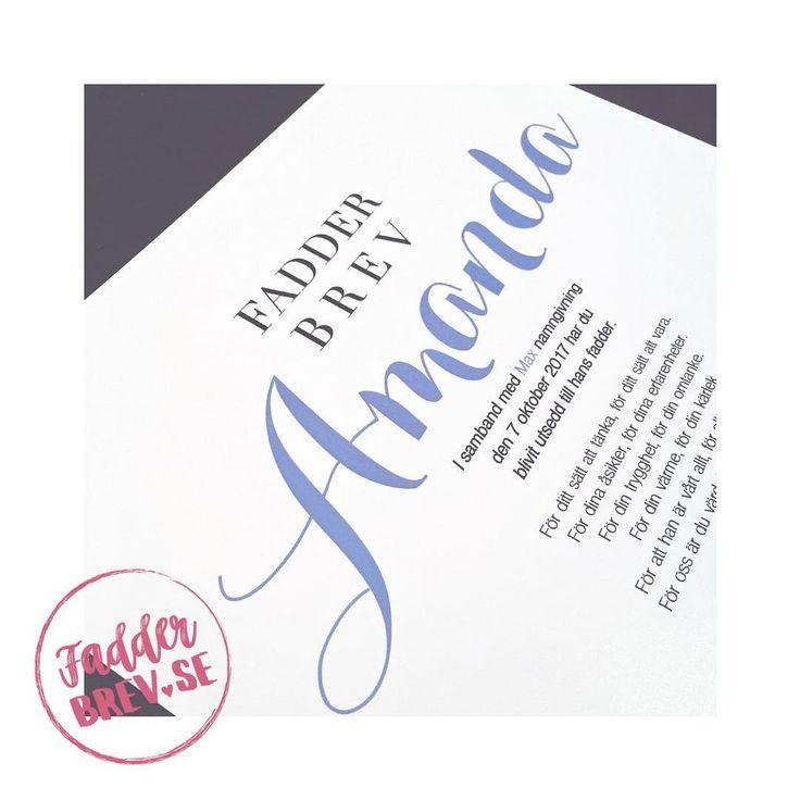 Ännu ett kärleksfullt, personligt designat fadderbrevet till en annan Amanda 😌 Beställ ett till namngivningen du också på Fadderbrev.se ♥ ⠀⠀ ⠀⠀ ⠀⠀ ⠀⠀ ⠀⠀ ⠀⠀ ⠀⠀ ⠀⠀ ⠀⠀ ⠀⠀ ⠀⠀ - - - - - - - - - - - - - - - - - - - - - - - - - - - - - - - - ⠀⠀ #fadderbrev_se #fadderbrev #namngivning #namngivelse #namngivningsfest #namngivningskalas #namngivningsceremoni #namngivningspresent #dop #dopgåva #faddrar #fadder #fadderbarn #babystuff #babyshower #mittlivsommamma #mammalivet #mammaledig #newborn #amanda…