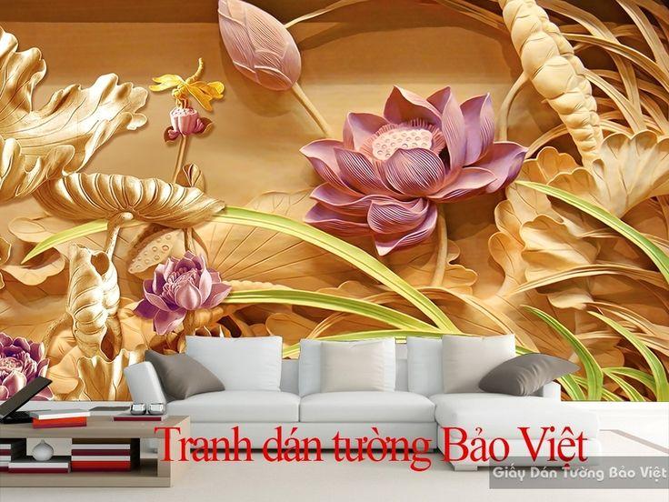 Tranh dán tường 3D đẹp 051 | Tranh dán tường Bảo Việt