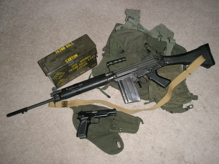 Show us your FAL/L1A1 and HiPower combo! | Gun Pix | Guns, Fal rifle