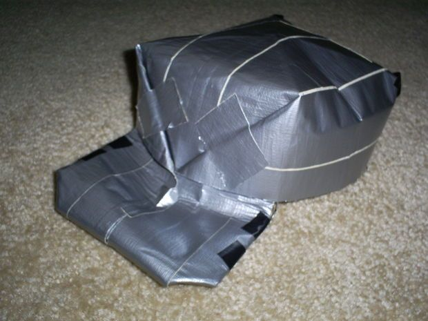 Picture of Duct tape/ origami hat