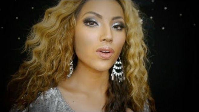 Işıltılı Beyonce Makyaj Tekniği - Özel günler veya gece için uygulayabileceğiniz ışıltılı Beyonce makyaj yapımı (Beyonce Makeup Video)