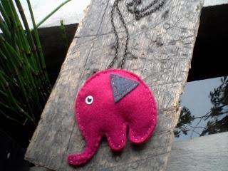 fushia elephant