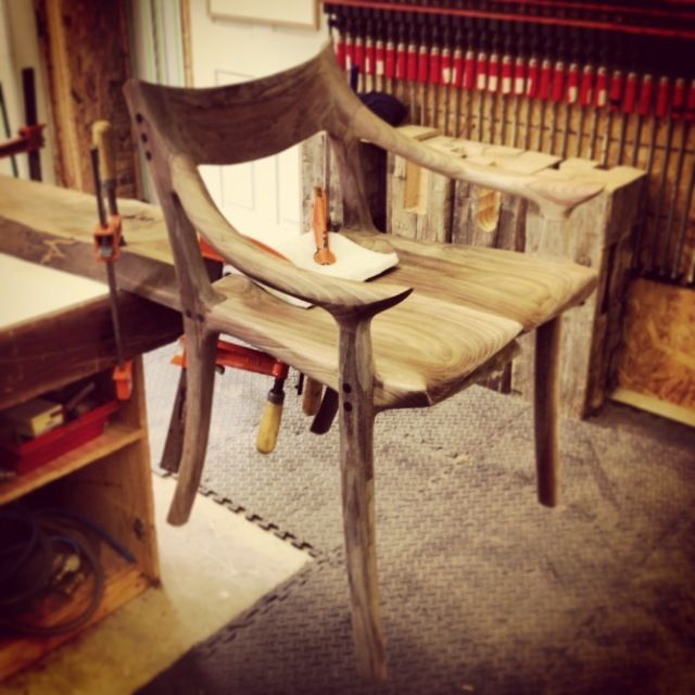 My fine woodworking instagram feed | Custom Wooden Rocking Chairs Dining Chairs Bar Stools & Tables | Paul Lemiski