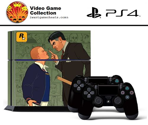 Rockstar Games For Ps4 : Badskinz bully rockstar skin for ps console
