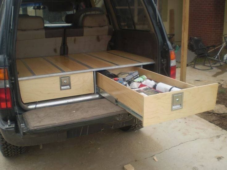 55 best creative diy suv truck bed storage images on pinterest shed campers and camping tips - Diy truck bed storage ...