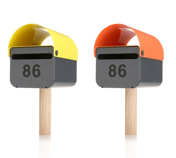 Something is quite beautiful about these modern mailboxes. Created by DesignbyThem, an austrlian firm.