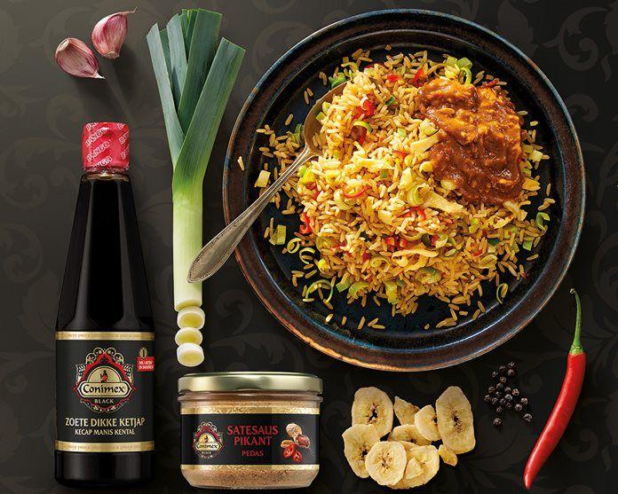 Nasi Goreng – Gebakken rijst Black recept
