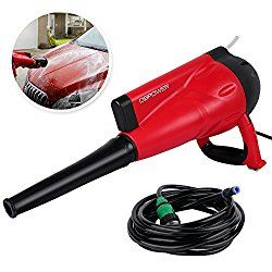 DBPOWER Electric Pressure Washer 1740 PSI 1800 Watt/12Mpa Portable Car Washer, All Parts Included, Connect the Tap, Foam Car Wash, Drying & Dust Absorption