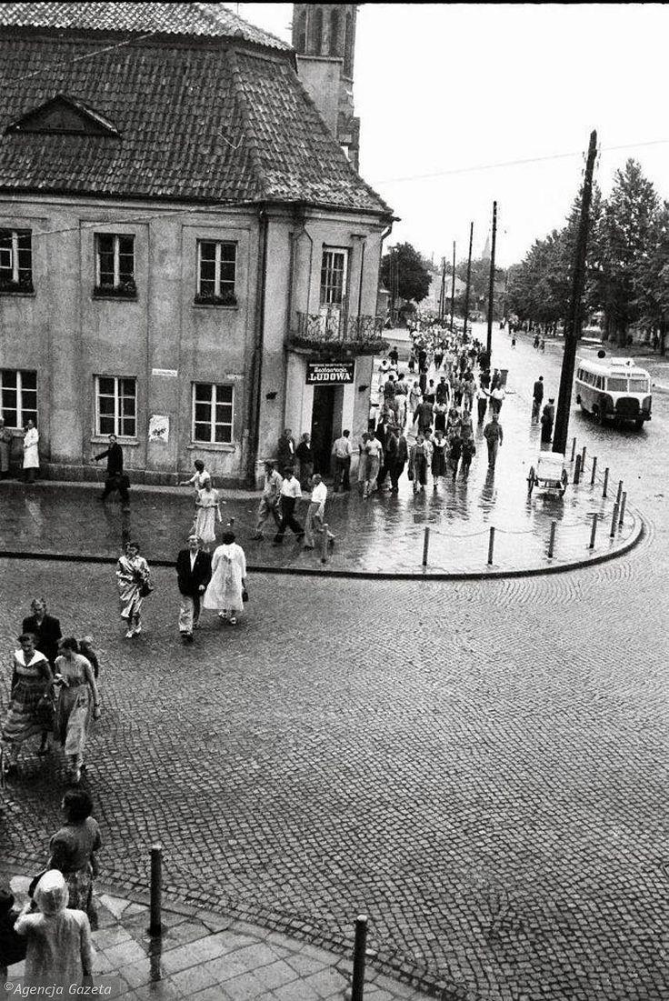Zdjęcie numer 36 w galerii - Jak kiedyś wyglądał Białystok? Unikalne zdjęcia Antoniego Zdrodowskiego