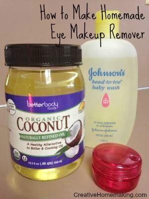 Wie Augen Make-up Remover machen – face