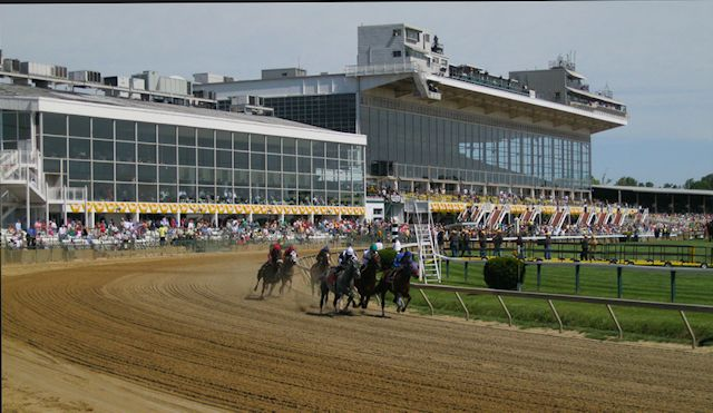 Horse racing's Pimlico Race Track, home of the Preakness Stakes