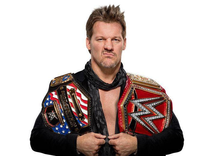 Chris Jericho WWE US and Universal Champ 2017 by LunaticDesigner
