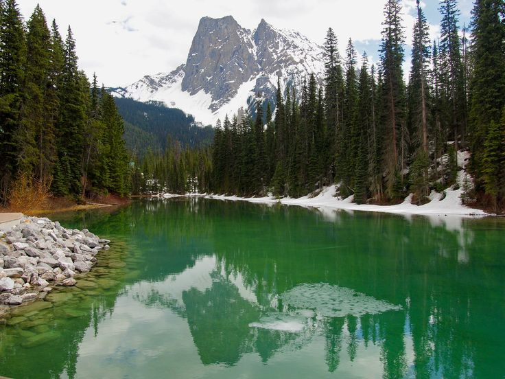 Emerald Lake - Yoho National Park in British Columbia, Canada.