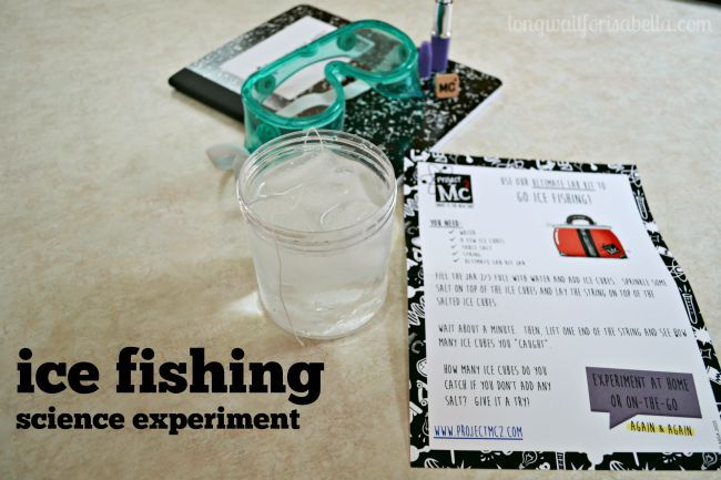 Boost her brain power after school snacks and experiments for Ice fishing supplies wholesale