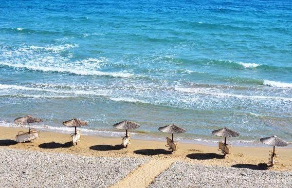 Gerakas beach, waiting for tourists