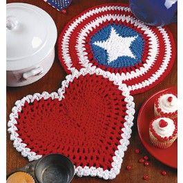 Crocheting Hotpads : Crochet hotpads Crochet: Potholders & Coasters Pinterest