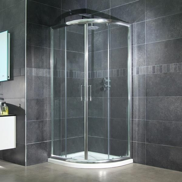199 95 800 Quadrant Shower Enclosure and Tray Best 25 enclosures trays ideas on Pinterest Large