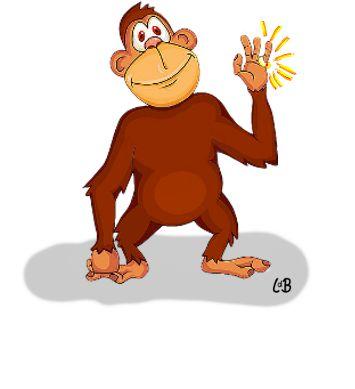 Al draagt een aap een gouden ring, ...het is en blijft een lelijk ding, betekent: fraaie kleding en sieraden maken een lelijk mens niet mooi.