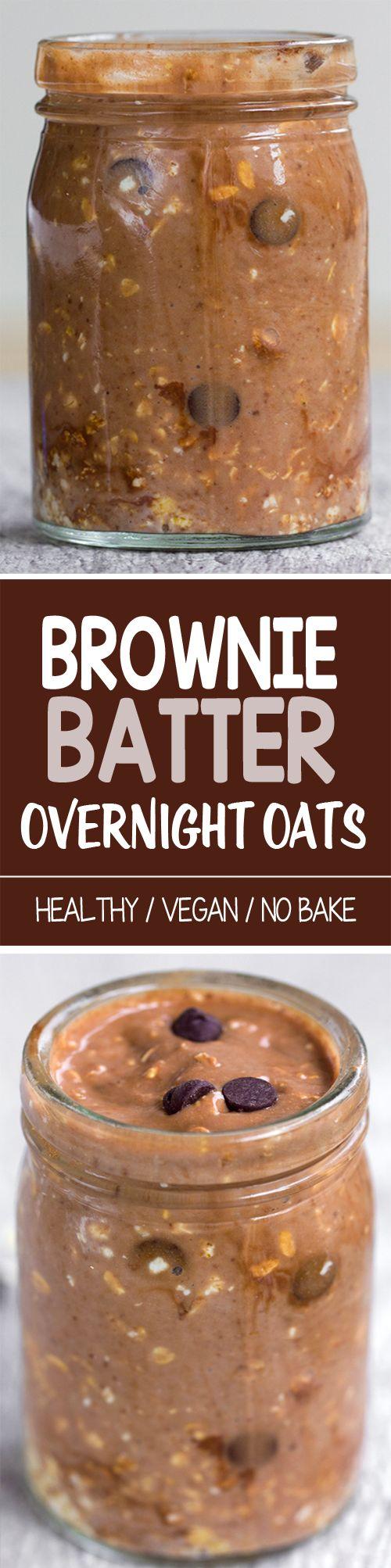 Brownie Batter Overnight Oats!!!