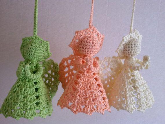 Handmade Angel Crochet Angel Knit Angel by SirikHandmade on Etsy