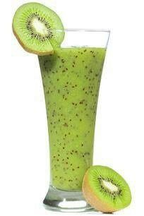 Cucumber Kiwi and Apple Smoothie