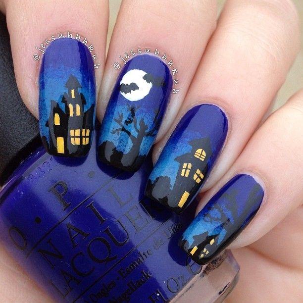 17 Best ideas about Halloween Nail Art on Pinterest | Halloween ...