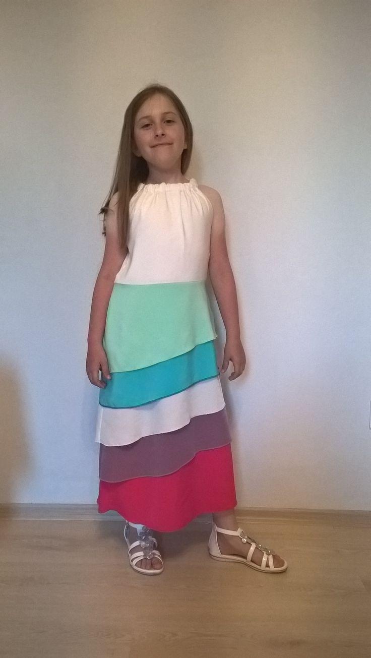 šaty pro dceru od naší zákaznice :)