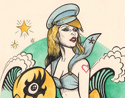 "Check out new work on my @Behance portfolio: ""THE TIDE IS HIGH (BLONDIE)"" http://be.net/gallery/40687287/THE-TIDE-IS-HIGH-(BLONDIE)"