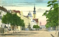 Prešov - Grécko-kat. biskupské paláce s kostolom (1921)