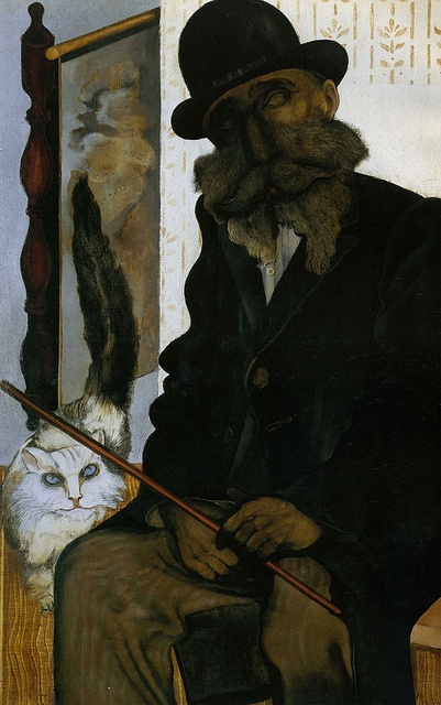 Jankel Adler, Cléron, the Cat Creator, 1925