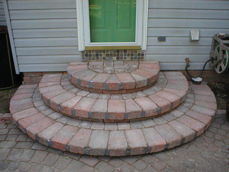 7 best back doorsteps images on pinterest | back doors, patio ... - Patio Steps Ideas
