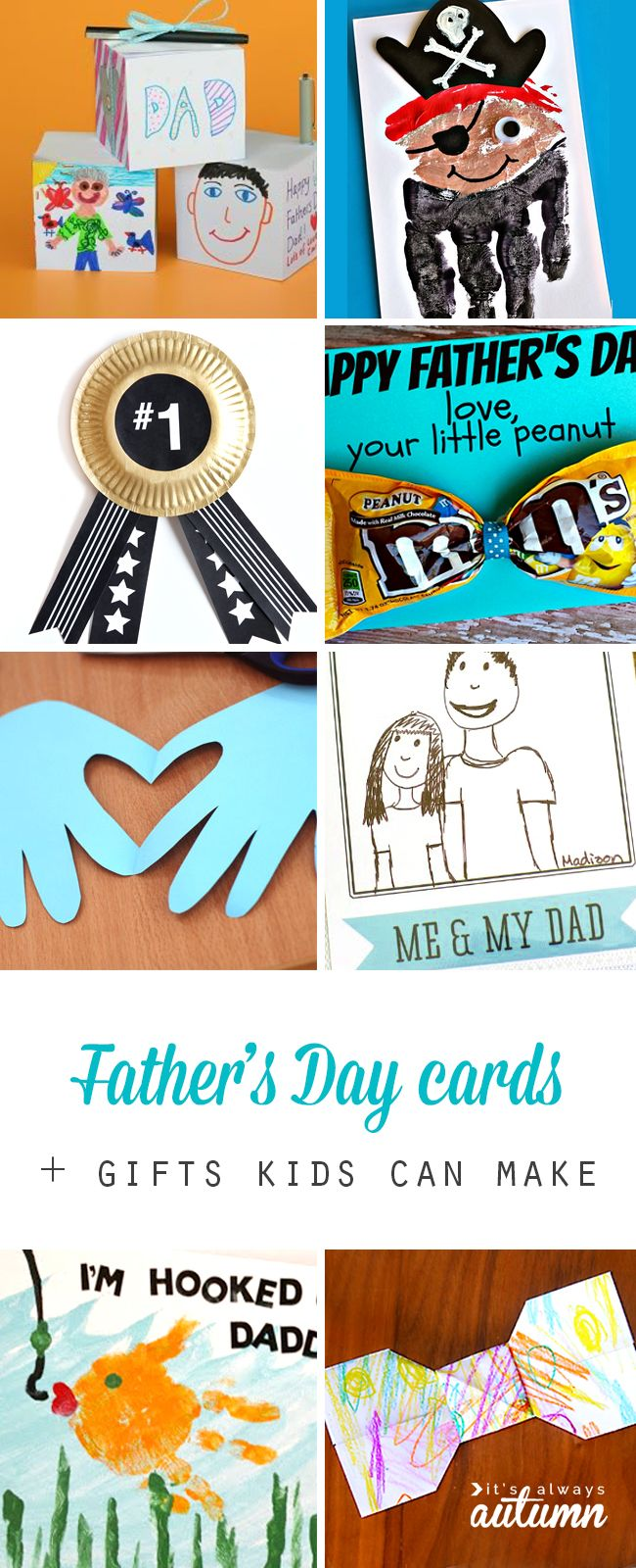 fathers-day-cards-kids-can-make-gifts-DIY-easy-fun-for-dad-pinnable.jpg 650×1,600 pixels