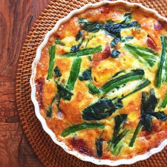 ダイエットの味方!絶品「豆腐キッシュ」のレシピアイデアまとめ - macaroni