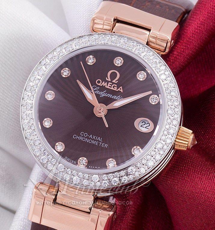 Реплика часов Omega De Ville Ladymatic, купить в интернет магазине viptimeclub.ru. Каталог цен на реплики часов с отзывами