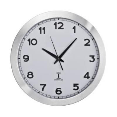 Image of Promotional Large Wall Clock. Printed Radio Controlled Round Wall Clock.