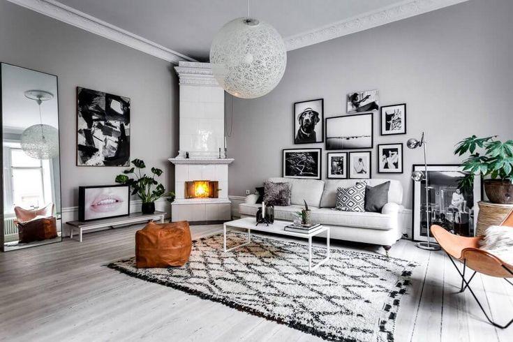 Roslagsgatan Apartment by Alexander White   HomeAdore