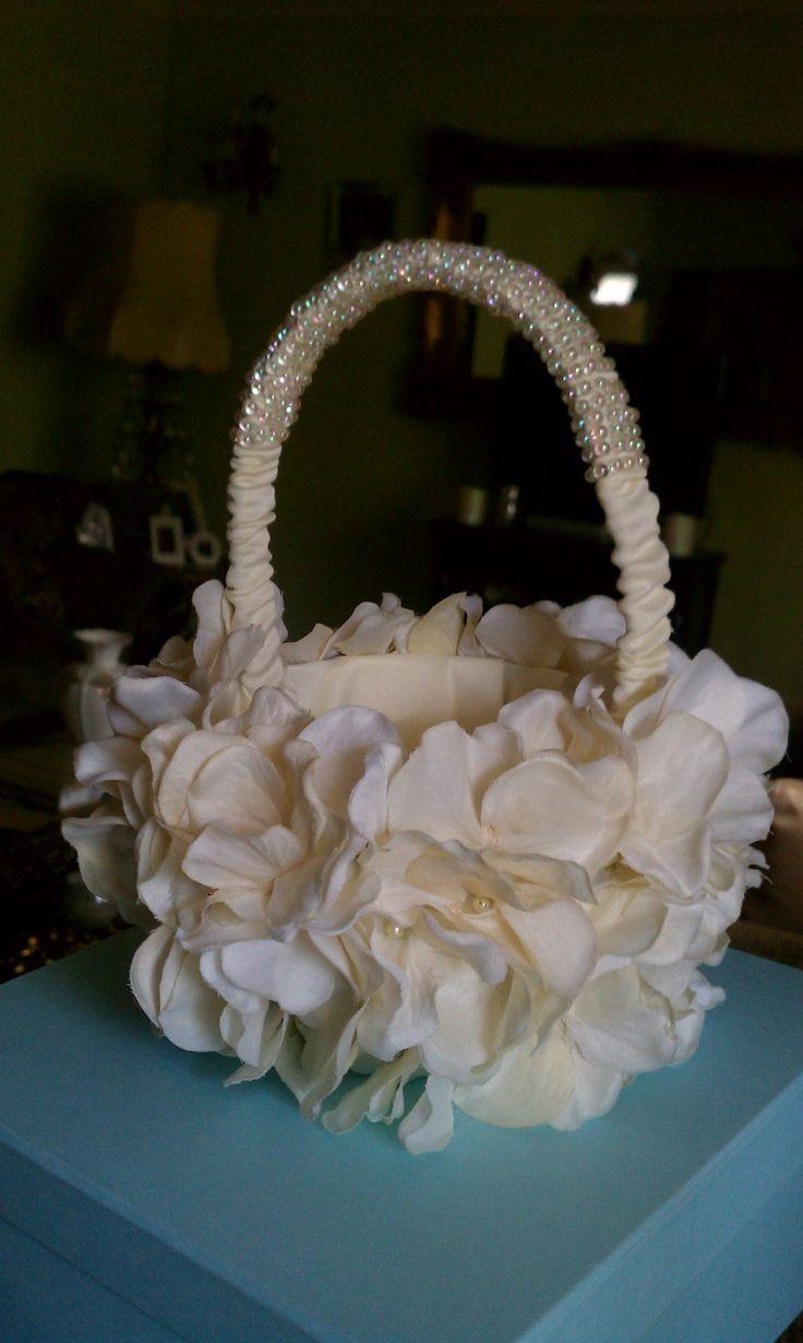 Flower Girl Baskets Diy : Best flower girl basket ideas on