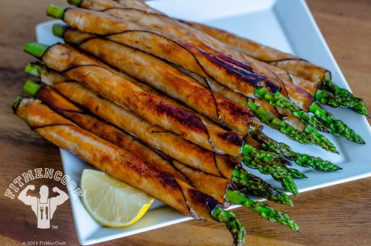 Just like salty, crunchy sweet potato chips, I cannot get enough of turkey wrapped asparagus. Easy to prepare, high in protein, includes vegetables, and most o