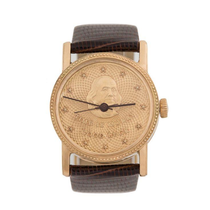 Золотые часы представительского класса «Франклин. Удача в Бизнесе» — Часовая мануфактура «GoldEon»