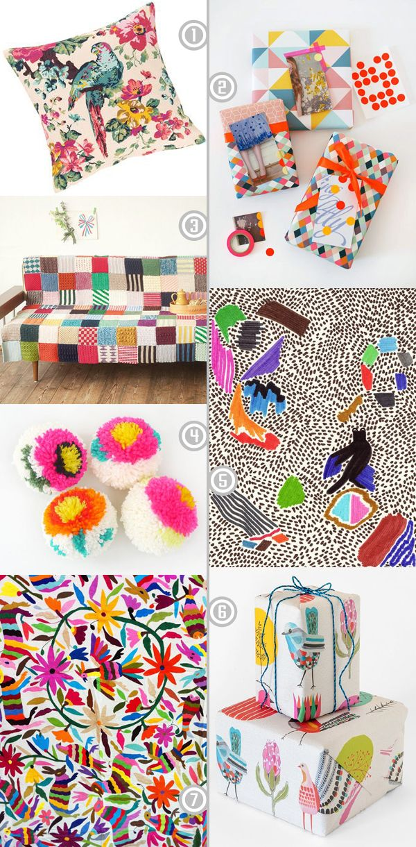 A few fabulous clashy bright pins I've been adding to my Pinterest boards recently, aren't they gorgeous!? | emmallamb.blogspot.com