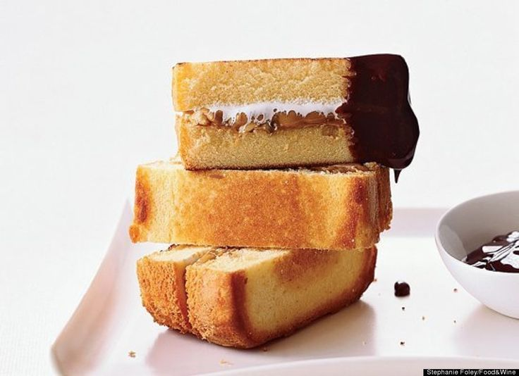 Peanut Butter And Jelly Bundt Cake