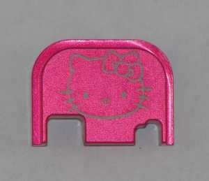 Hello kitty pink slide cover plate glock parts accessories and