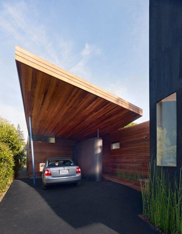 Minimalist House // Modern Carport At The Bal House // Terry U0026 Terry  Architecture