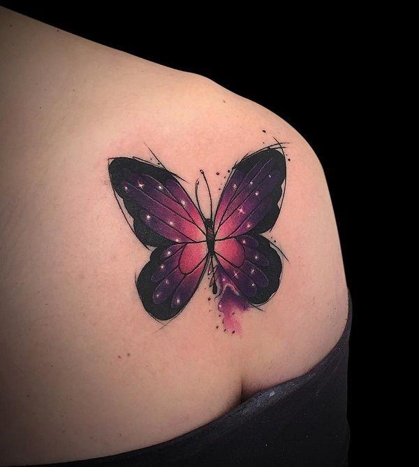 Best 25+ Butterfly tattoos ideas on Pinterest