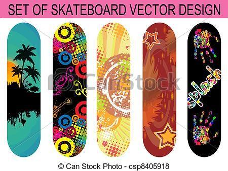 79 best images about skateboard designs on pinterest - Skateboard dessin ...