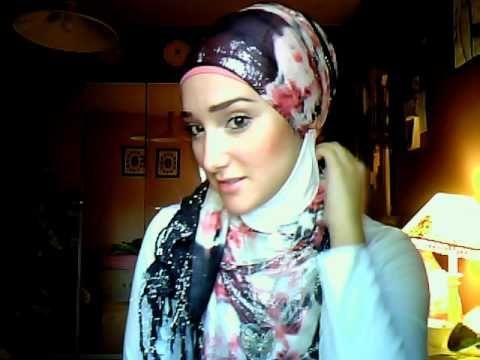 ▶ Hijab Tutorial #5 (Most Beautiful Hijab Tutorial w/ Turtle Neck) - YouTube
