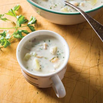 Clam Chowder Recipe Ffrom America S Test Kitchen