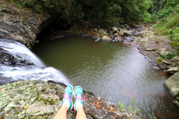 Lip Falls, Beechmont